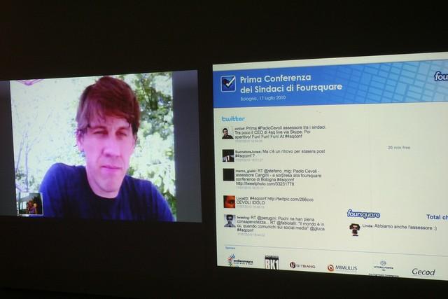 4sqconf: intervista a Dennis Crowley, cofondatore di Foursquare