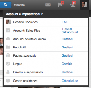 Privacy Linkedin Menu