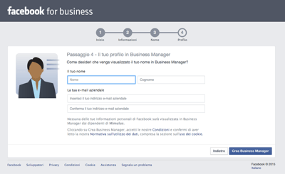 Facebook Business Fase4  - Mimulus