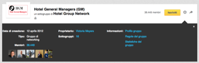Gruppi Linkedin Impostazioni - Mimulus