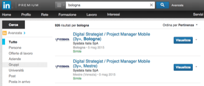 Gruppi Linkedin Ricerca - Mimulus