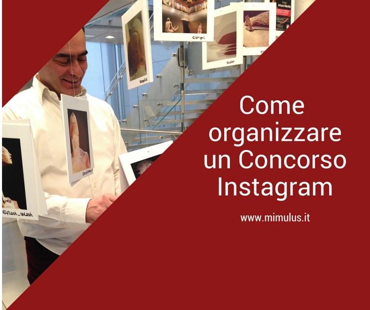 Come organizzare un Concorso fotografico su Instagram
