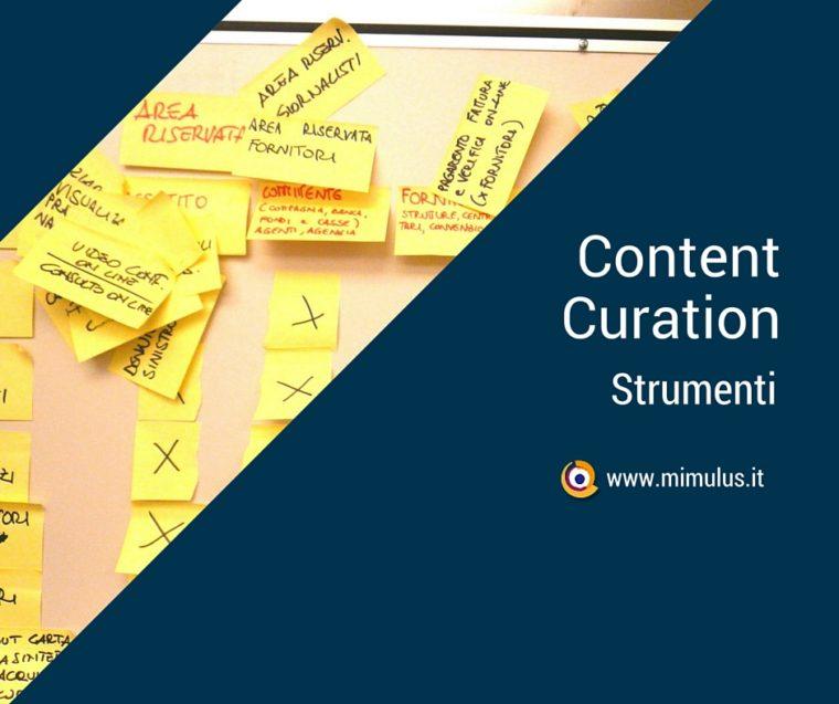 Content Curation: definizione e strumenti