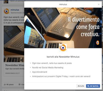 Modulo Facebook 8 - Mimulus