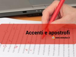 Accenti e apostrofi: i più comuni errori sul web