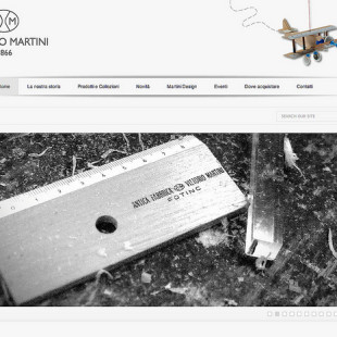 Il nuovo sito web di Vittorio Martini 1866