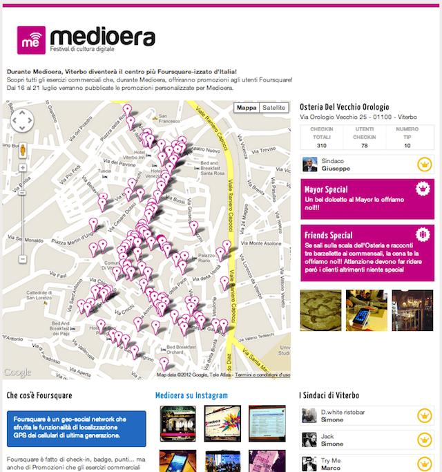 Medioera foursquare-izza il centro di Viterbo!