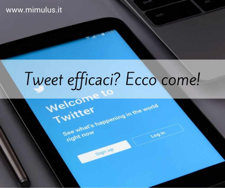 Come scrivere Tweet efficaci