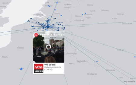 Facebook VideoLive Mappa - Mimulus