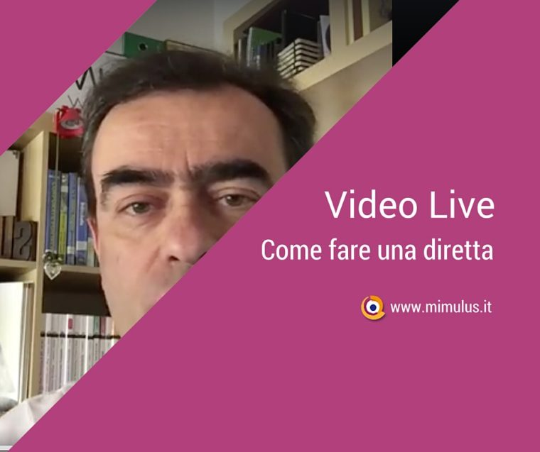 Come fare un Video Live su Facebook