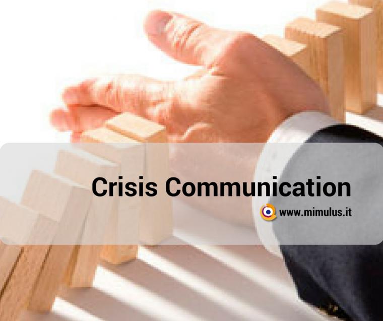 Crisis Communication, come affrontare una crisi