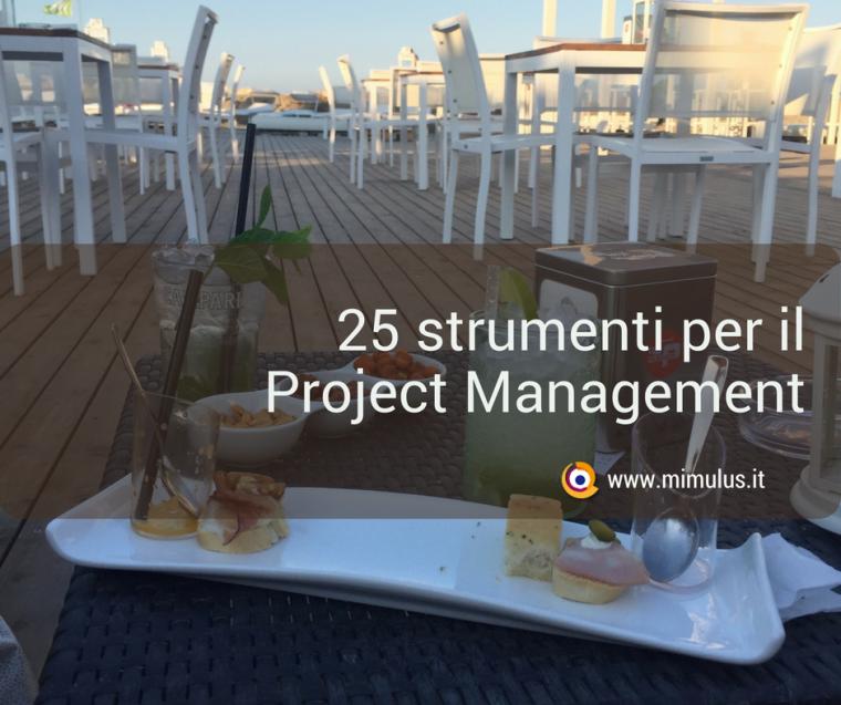 Le 25 applicazioni più interessanti per il Project Management
